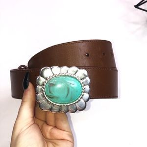 Steve Madden Leather Belt